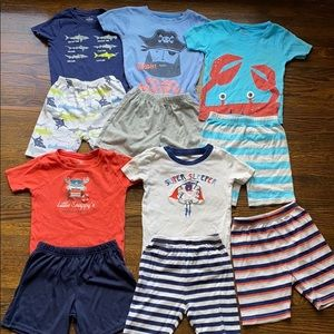 Bundle of Boys Pajamas, Carter's and Gymboree